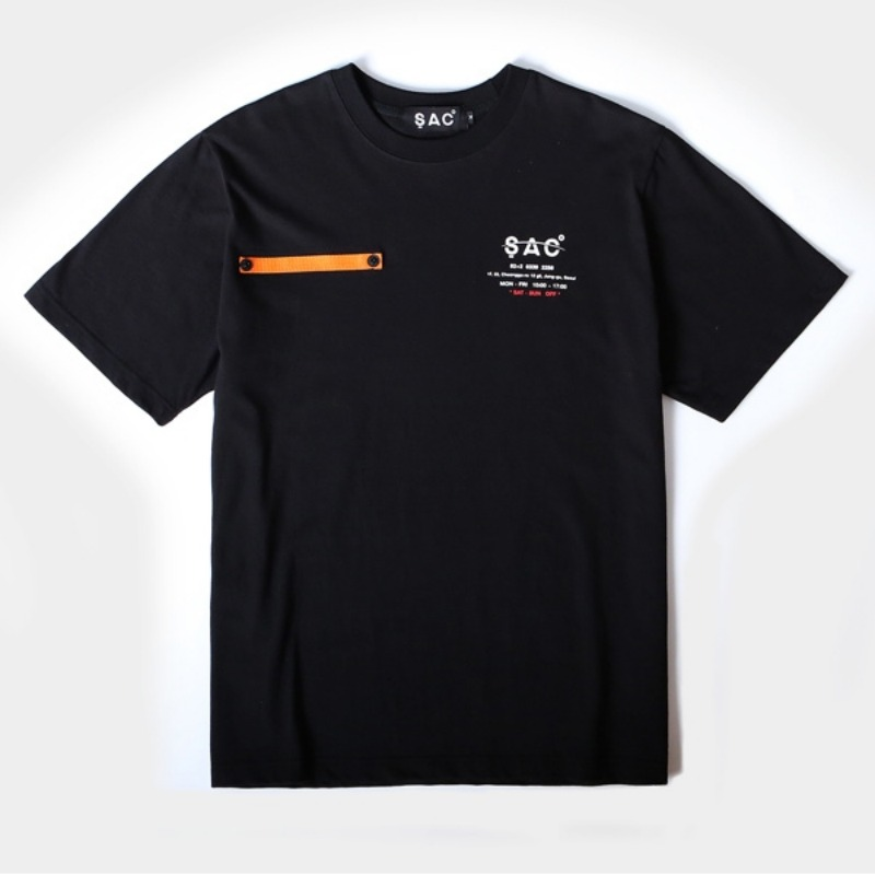 COMPANY T-SHIRTS BLACK