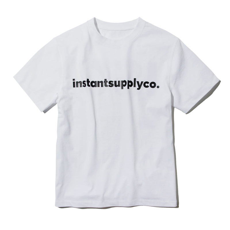 ISC BASIC LOGO T-SHIRT (WHITE)