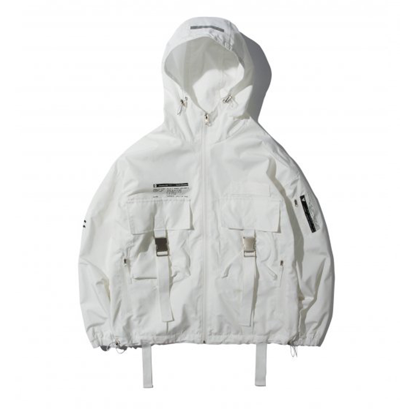 WLG TECH JACKET WHITE