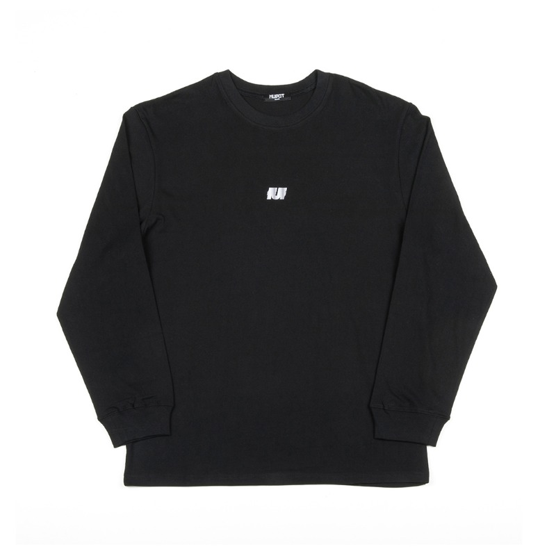 LOGO LONG SLEEVE T-SHIRT BLACK