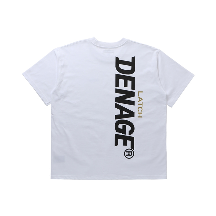 SIDE BIG LOGO OVERSIZED T-SHIRT WHITE