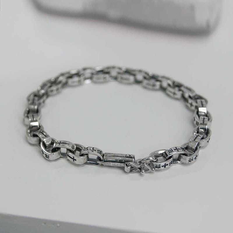 8MM BOX CHAIN BRACELET (SILVER 925)