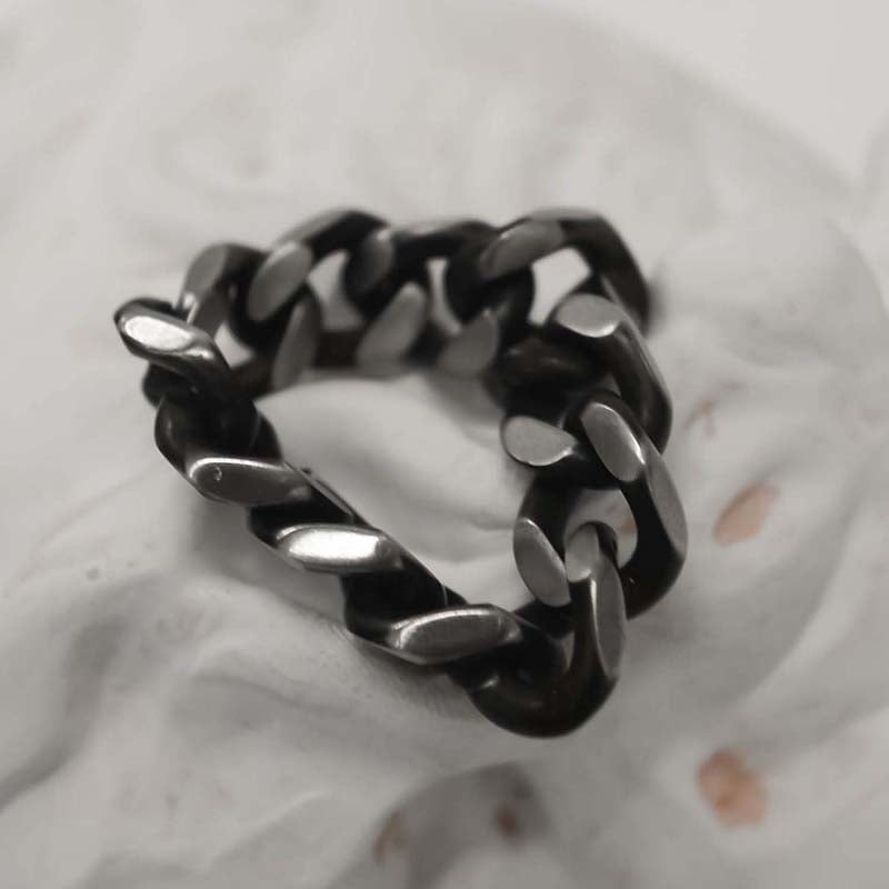 BLACKLINE 10MM CHAIN RING