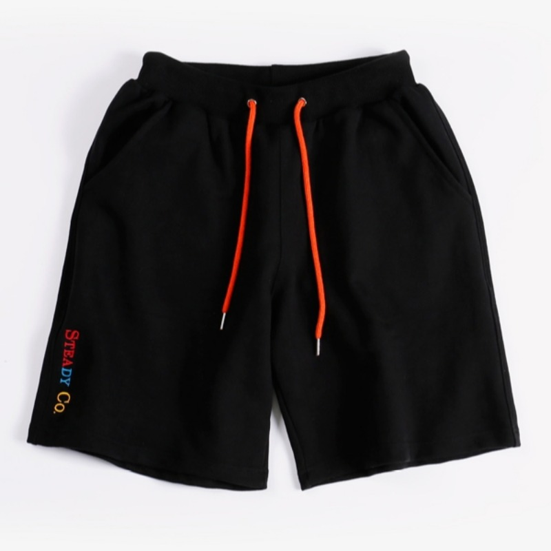 STEADY CO SWEAT SHORTS BLACK