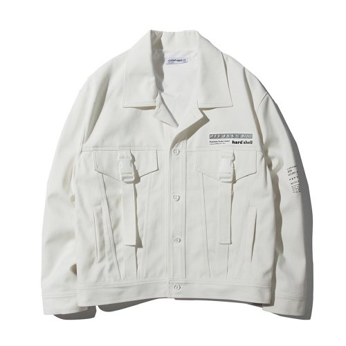 PRC TRUCKER JACKET WHITE