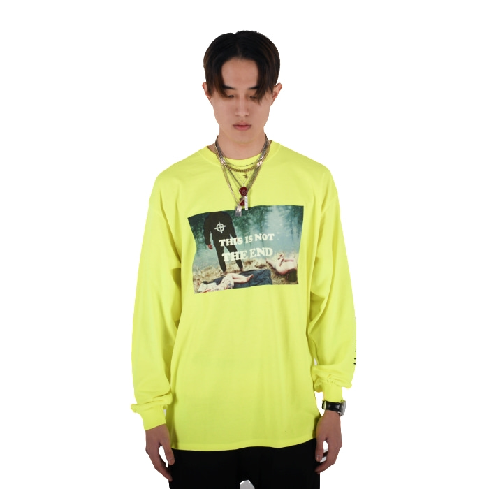 LONG SLEEVE TEE 2 (YELLOW)