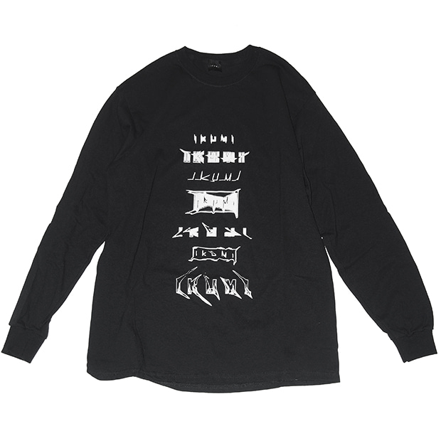 IKUMI LOGO LONG T (BLACK)