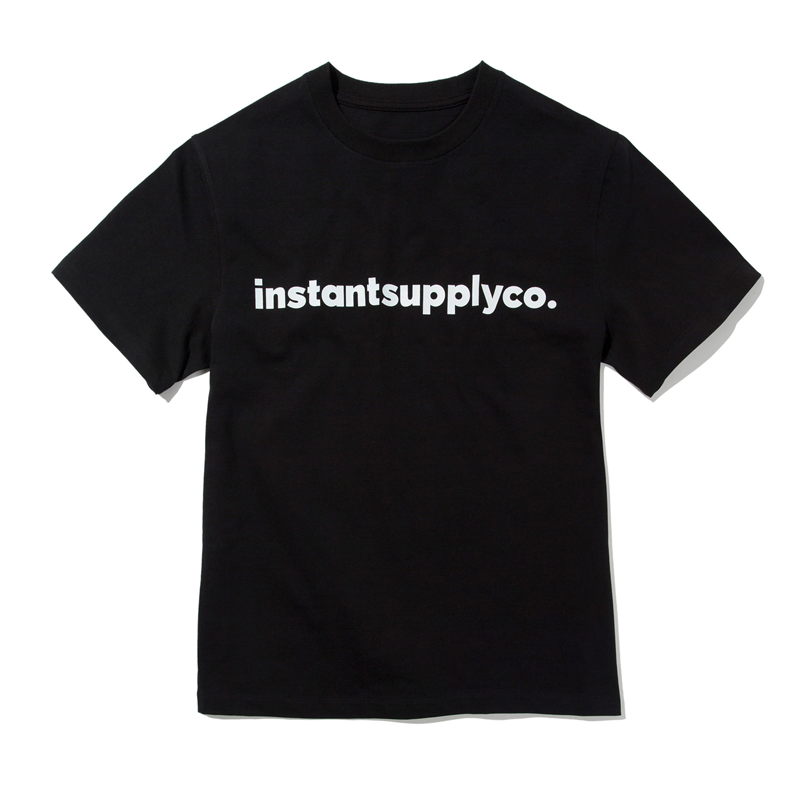 ISC BASIC LOGO T-SHIRT (BLACK)