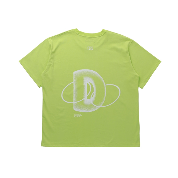 PLANETARY OVERSIZE T-SHIRT LIME