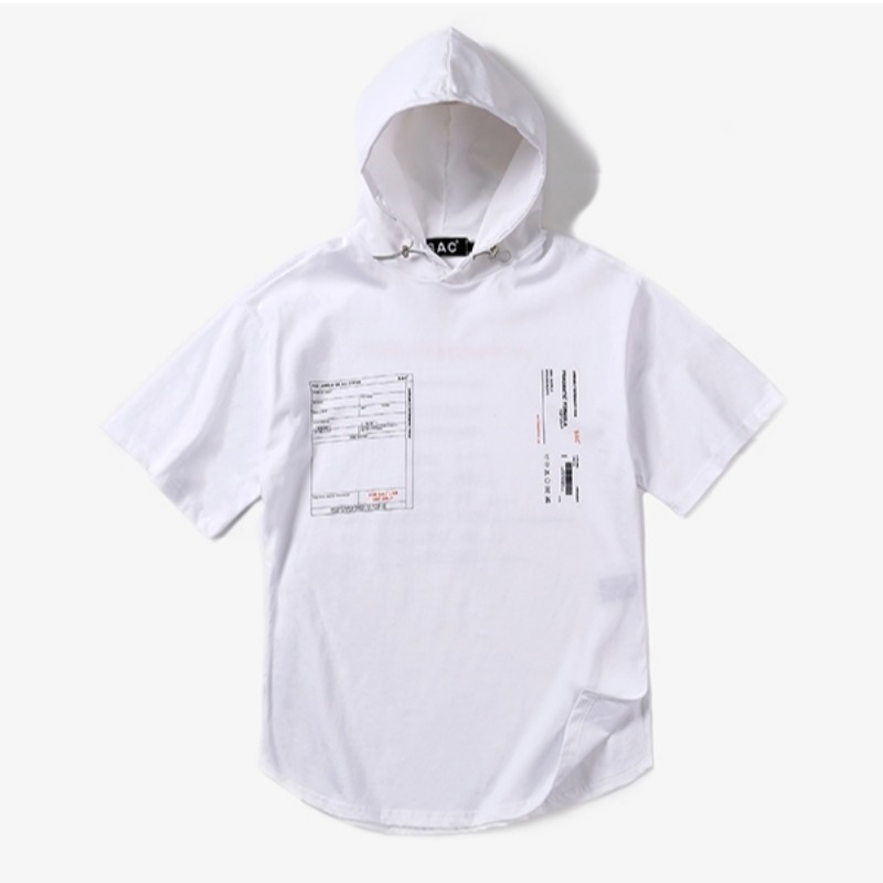 LAYER HOODY T-SHIRTS WHITE