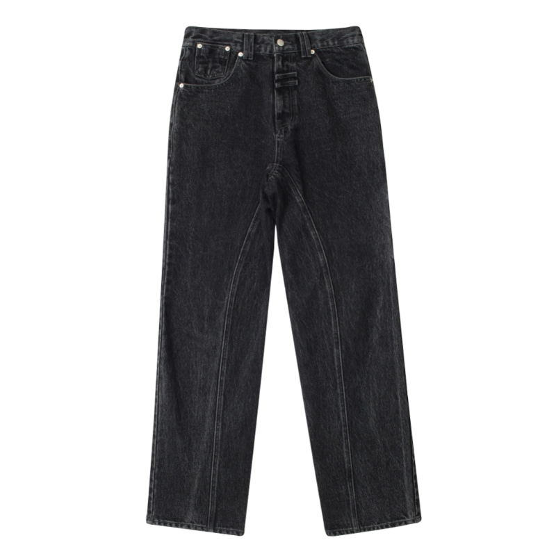 SEAM OUT JEAN BLACK