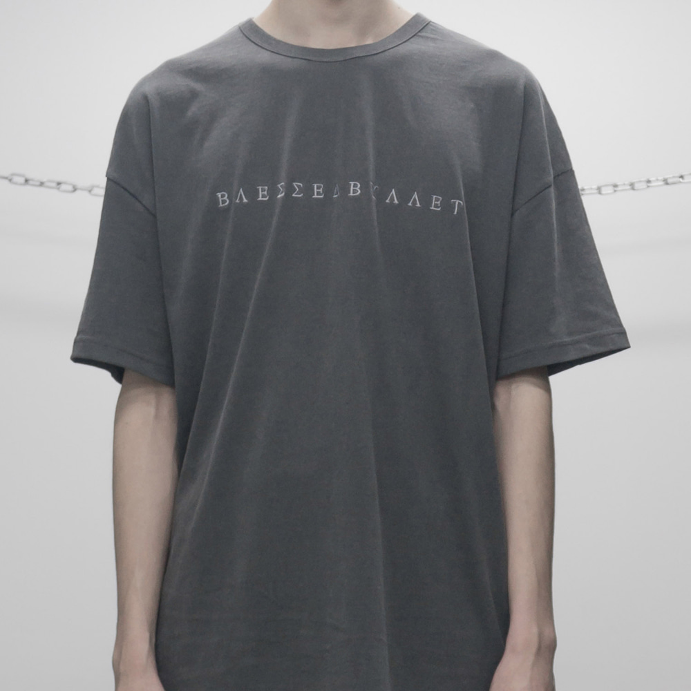 FADED SHORT SLEEVE (DARK GREY)