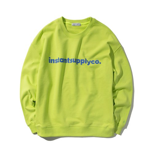 ISC BASIC LOGO CREWNECK GREEN