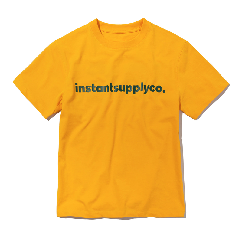 ISC BASIC LOGO T-SHIRT (ORANGE)