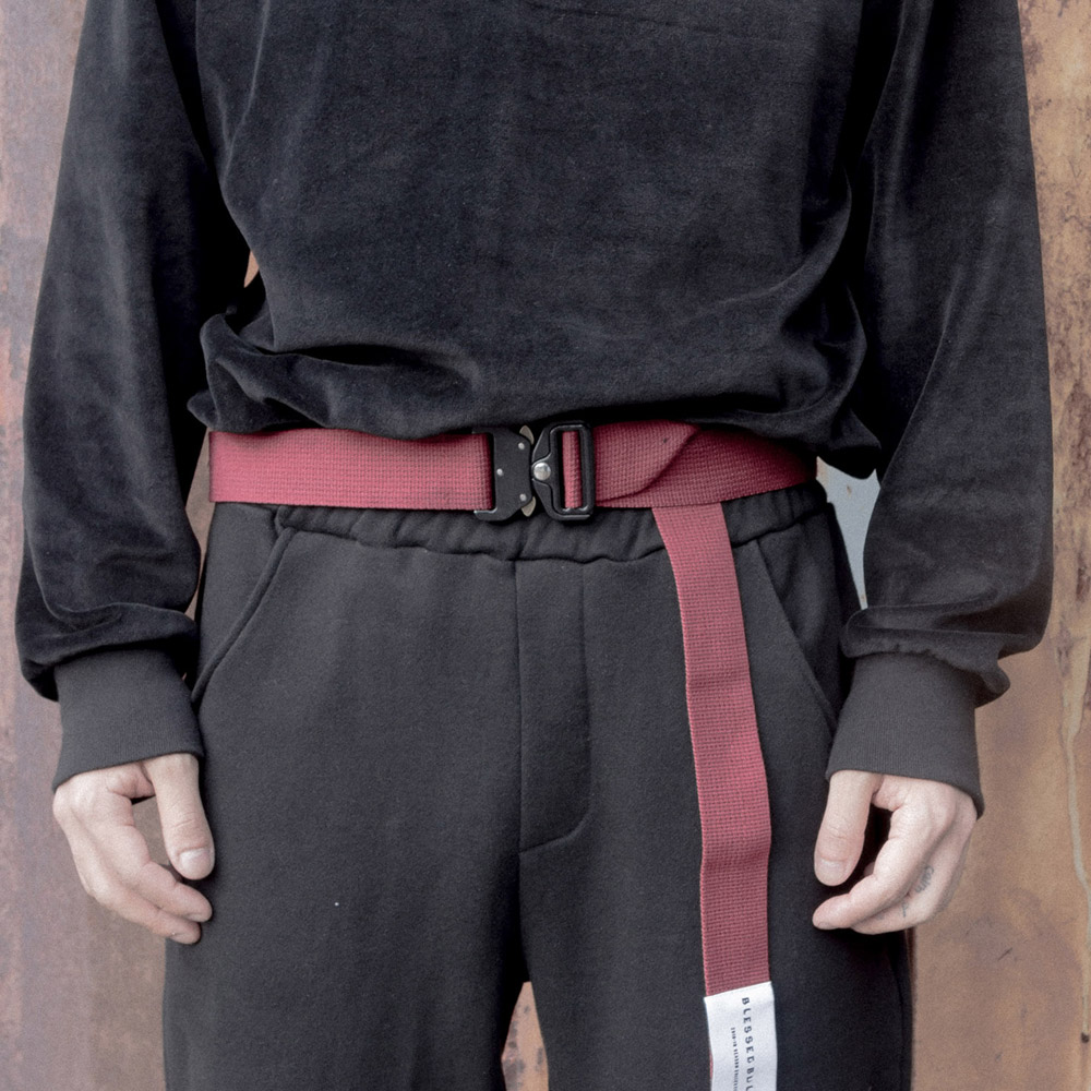 TECHNICAL X BURGUNDY BELT