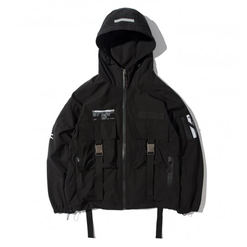 WLG TECH JACKET BLACK