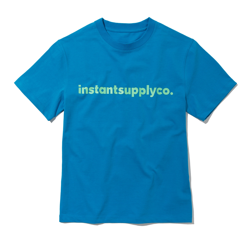 ISC BASIC LOGO T-SHIRT (BLUE)