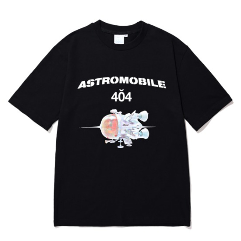 ASTROMOBILE T-SHIRT BLACK