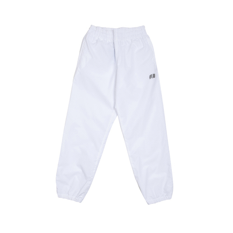 LOGO TRACK PANTS WHITE