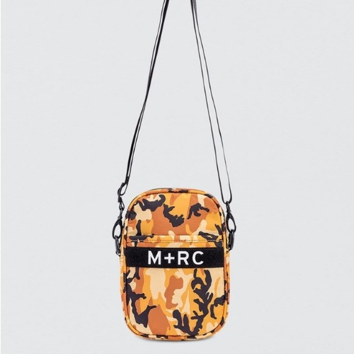 SHOULDER BAG ORANGE CAMO