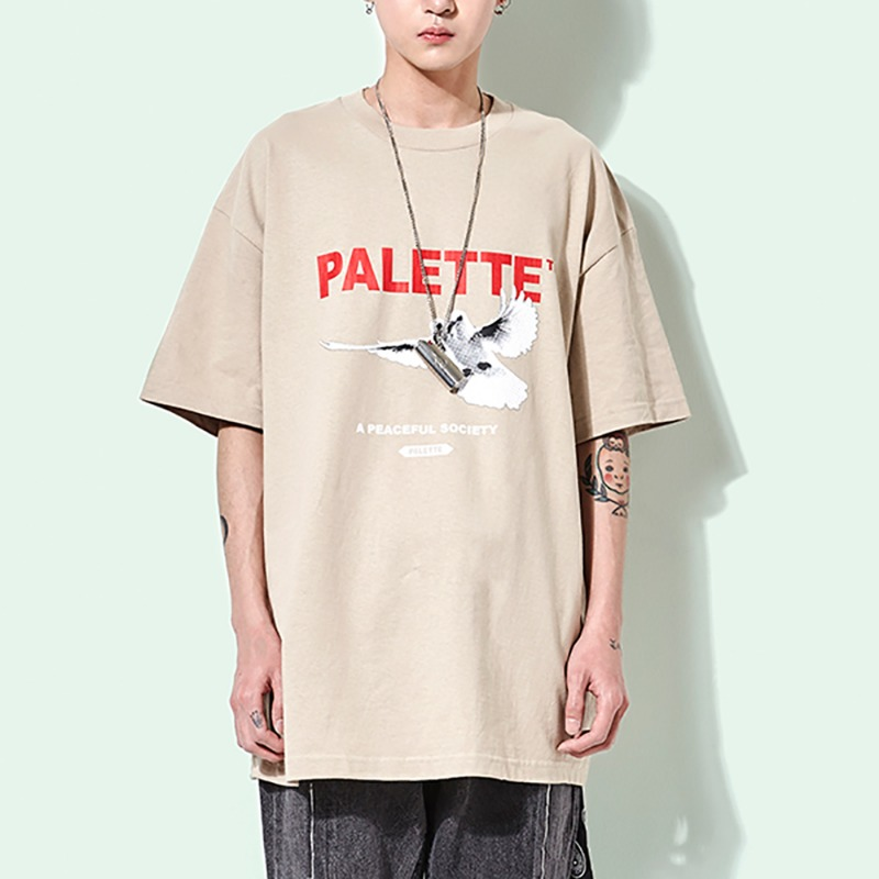 PEACEFUL SOCIETY TEE (SAND)