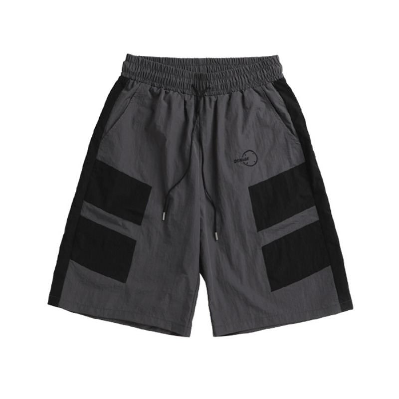 PIECE NYLON SHORTS GREY