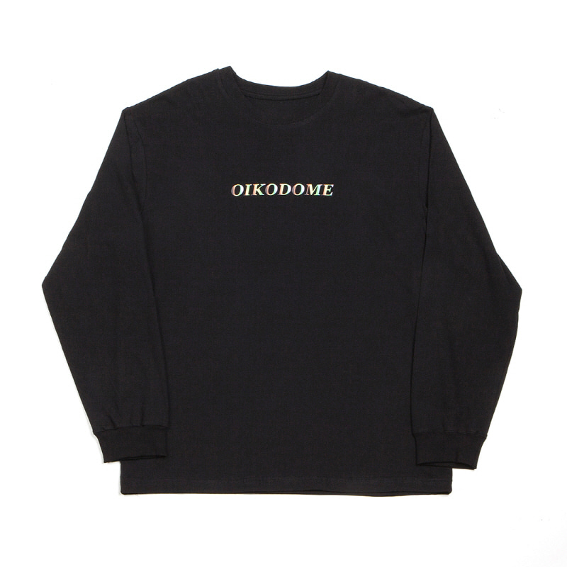 OIKODOME LONG SLEEVE T-SHIRT BLACK