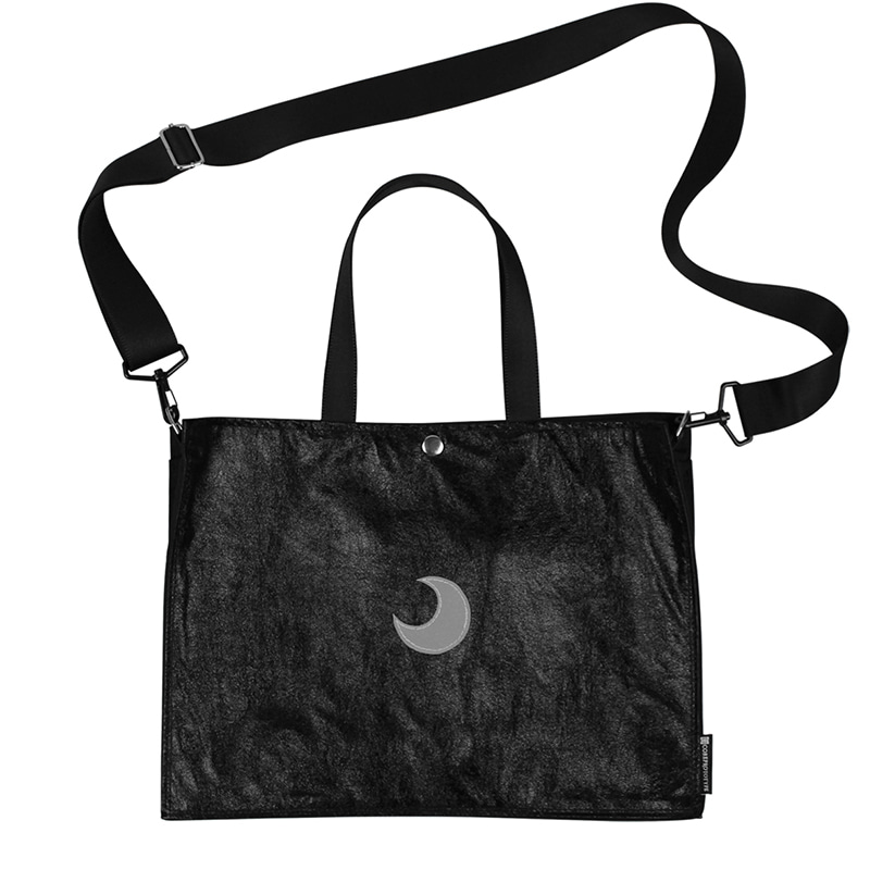 3M REFLECTIVE LUNE CROSS TOTE BAG (BLACK)
