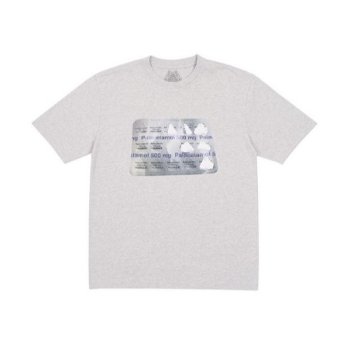 PALACETAMOL T-SHIRT GREY