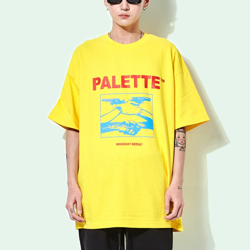 MIDNIGHT SEOUL TEE (YELLOW)