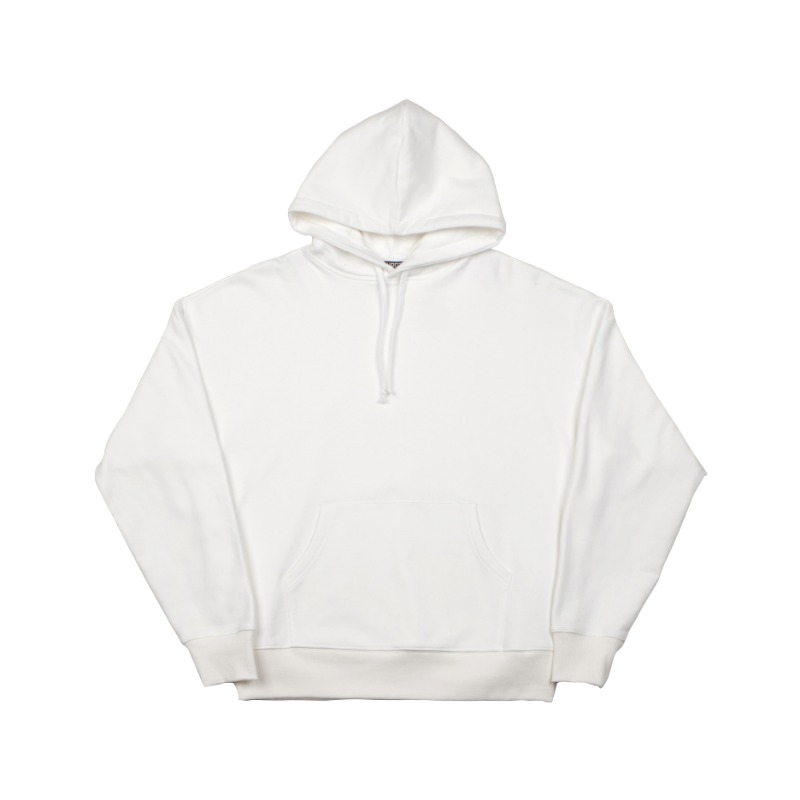 BIG SHOULDER HOODIE WHITE IVORY