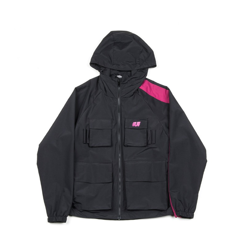 VARIOUS POCKETS TRACK JACKET_PINK
