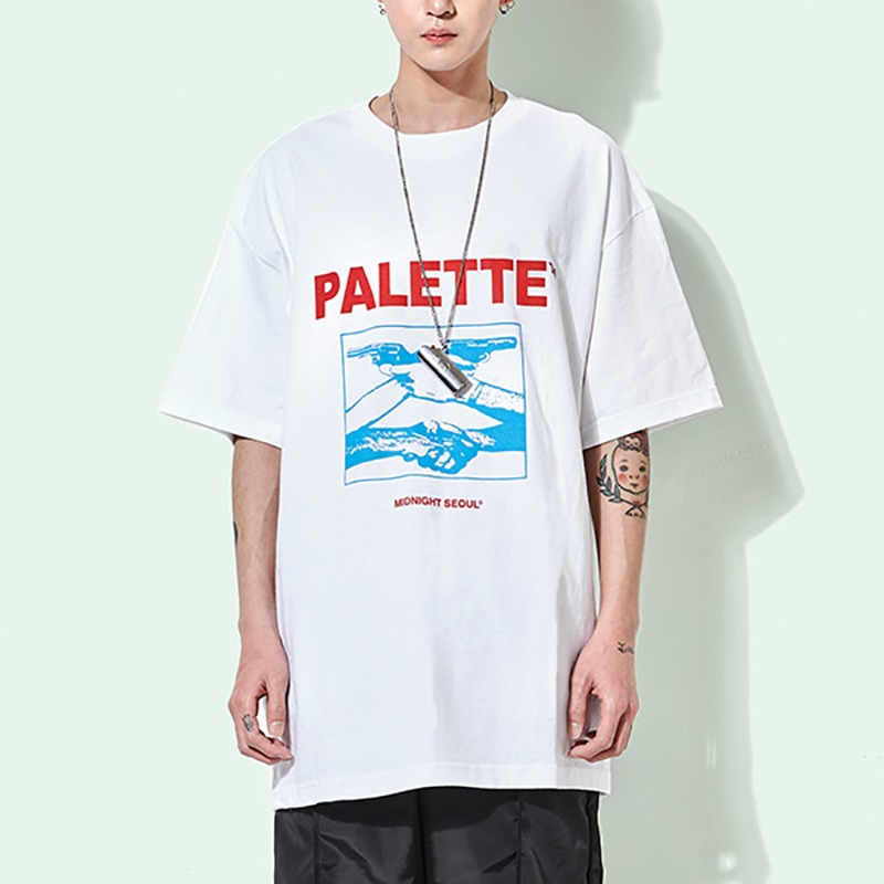 MIDNIGHT SEOUL TEE (WHITE)