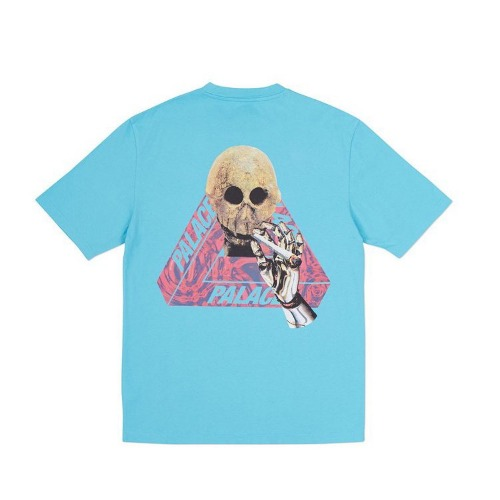 SKELEDON T-SHIRT AQUA BLUE