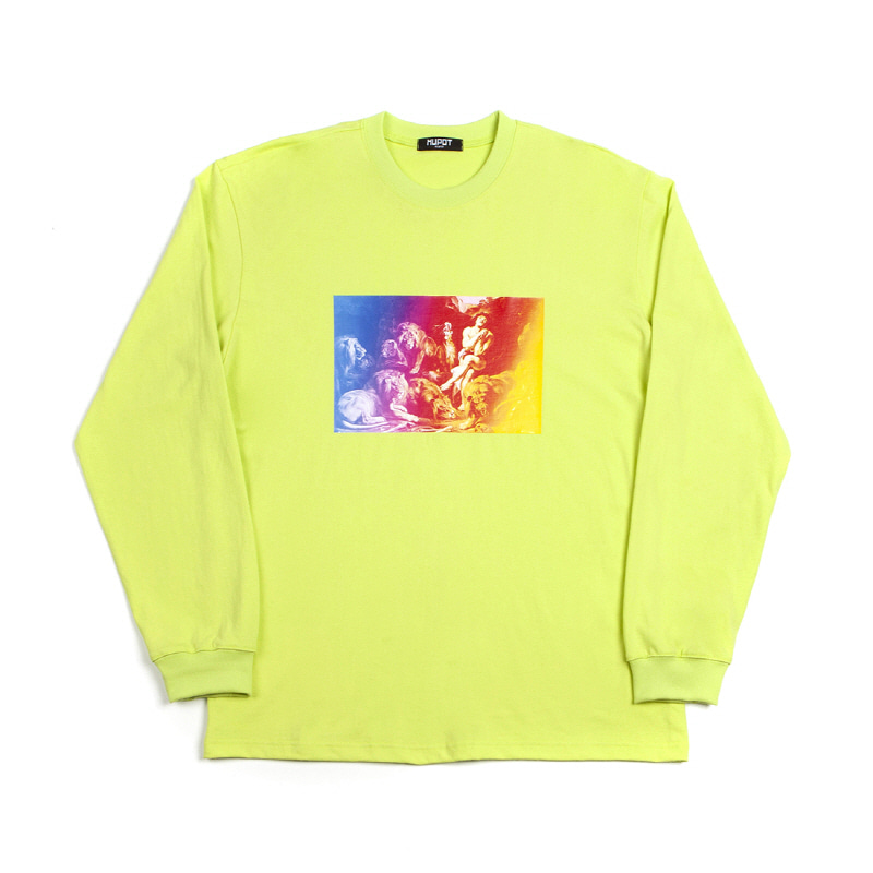 DANIEL LONG SLEEVE T-SHIRT NEON
