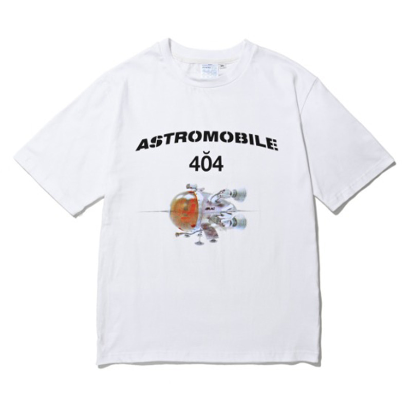 ASTROMOBILE T-SHIRT WHITE