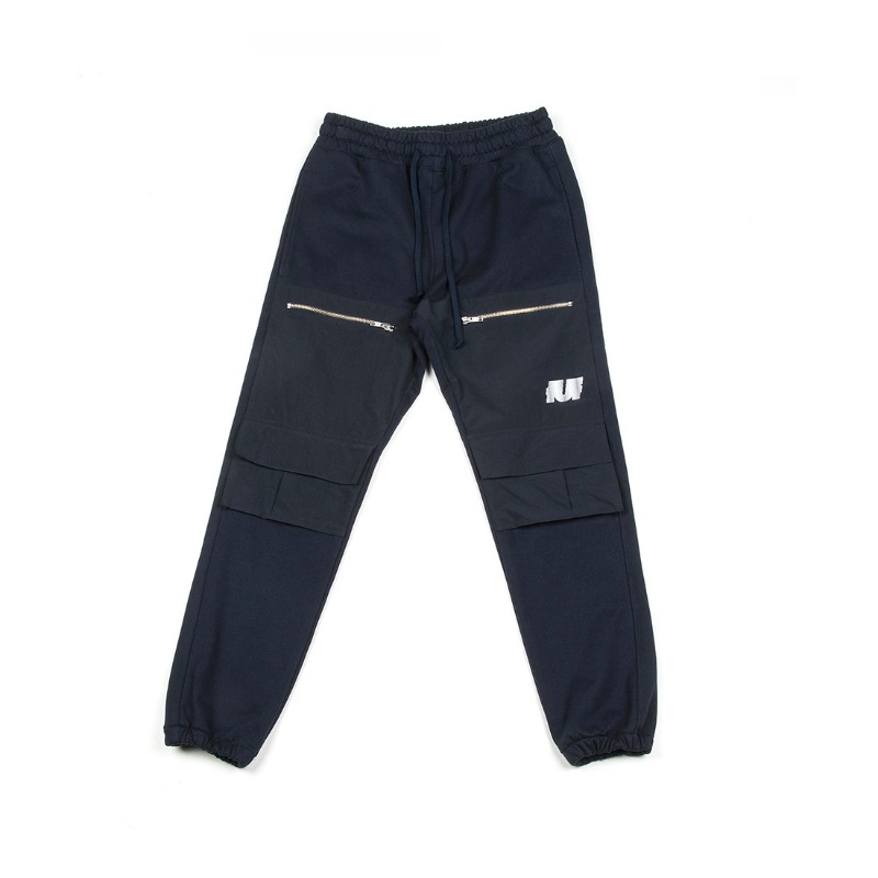 POCKET TRACK PANTS_NAVY