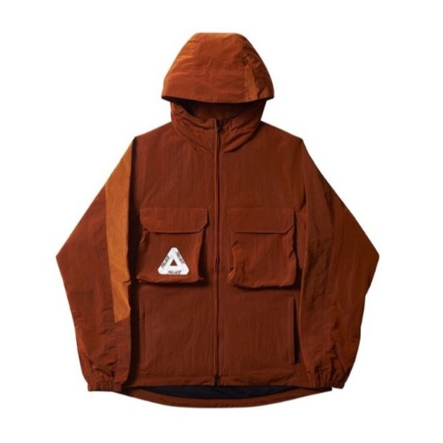 ARGO JACKET RUST ORANGE