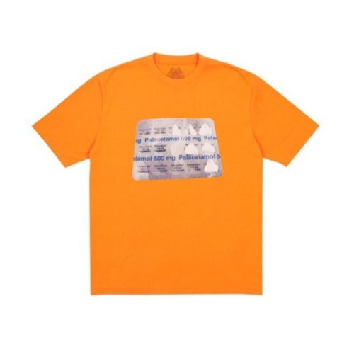 PALACETAMOL T-SHIRT ORANGE