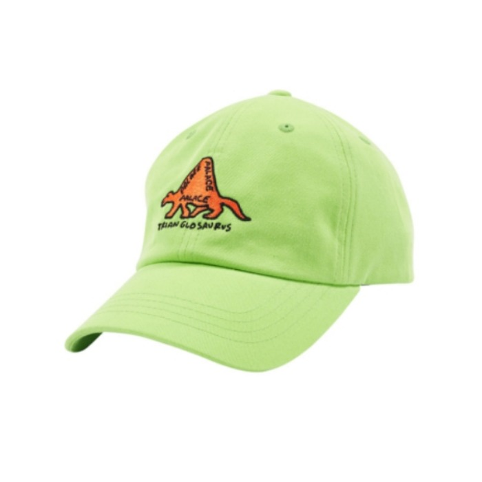 TRIANGLOSAURUS 6-PANEL LIME