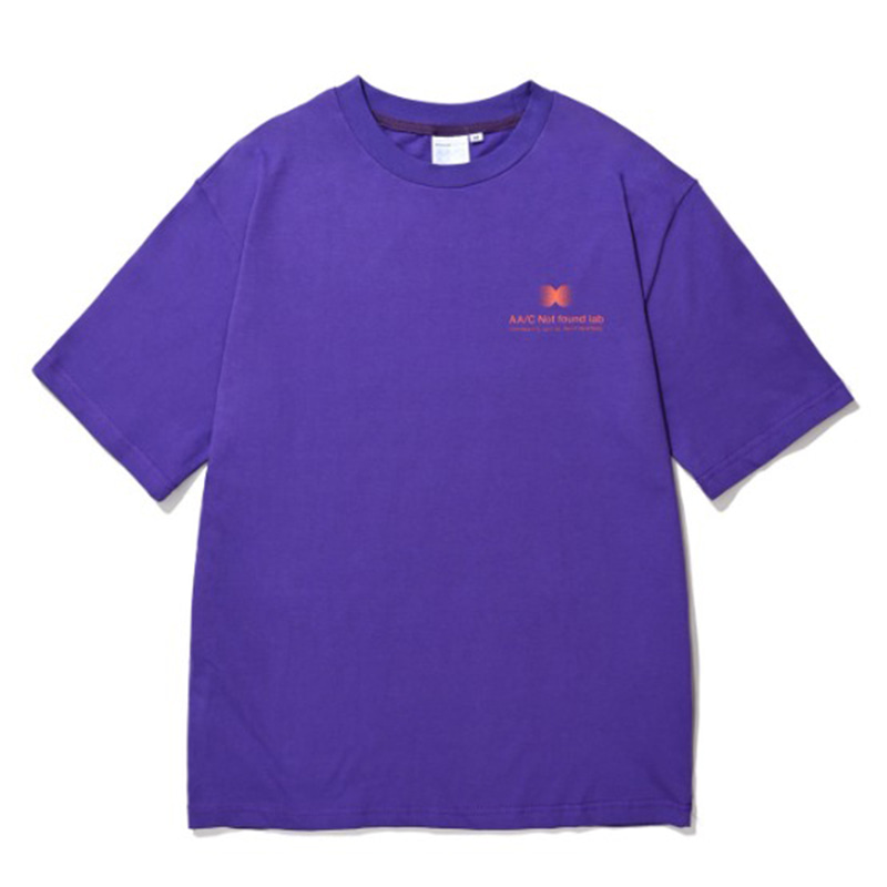 CIRCLE LOGO T-SHIRT PURPLE