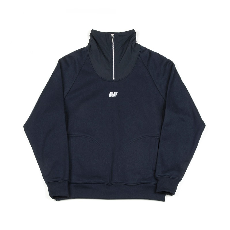 HIGH QUALITY FABRIC TRACK TOP NAVY