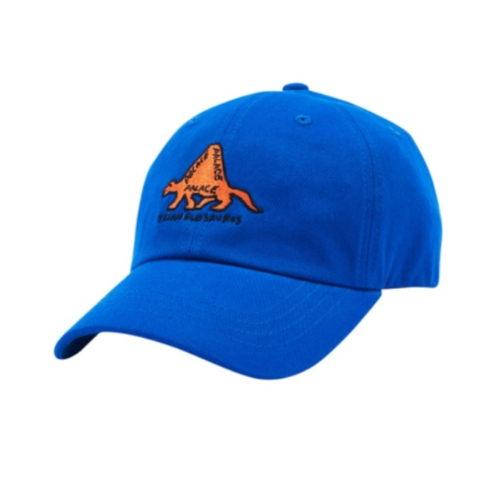 TRIANGLOSAURUS 6-PANEL BLUE