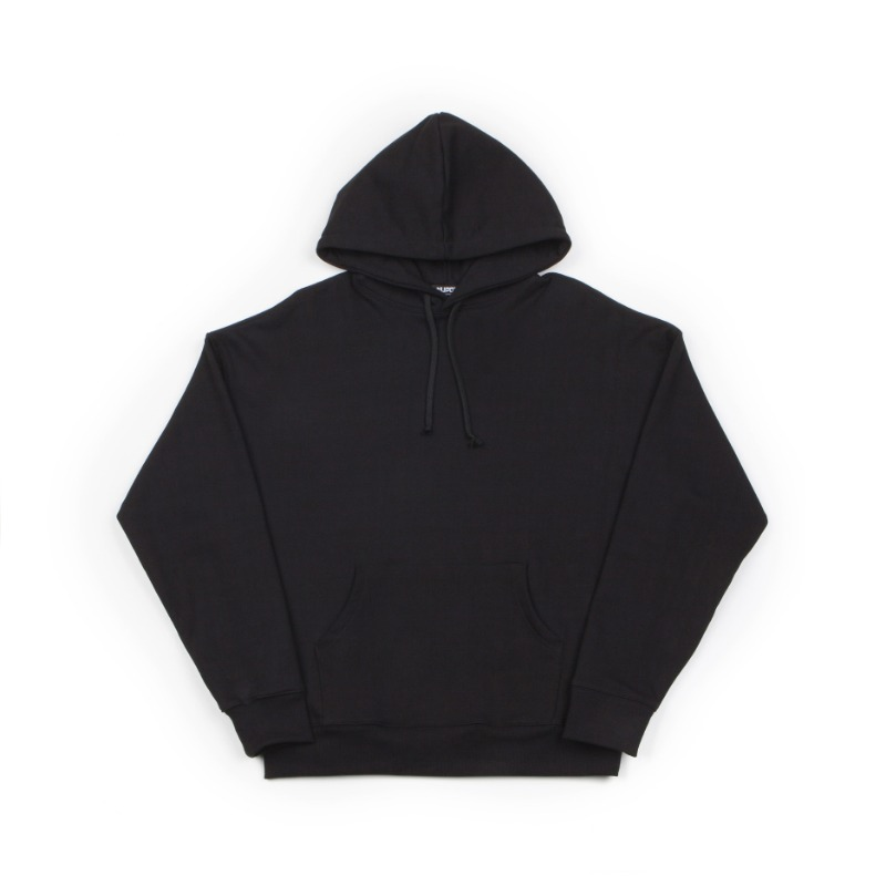 BIG SHOULDER HOODIE_BLACK