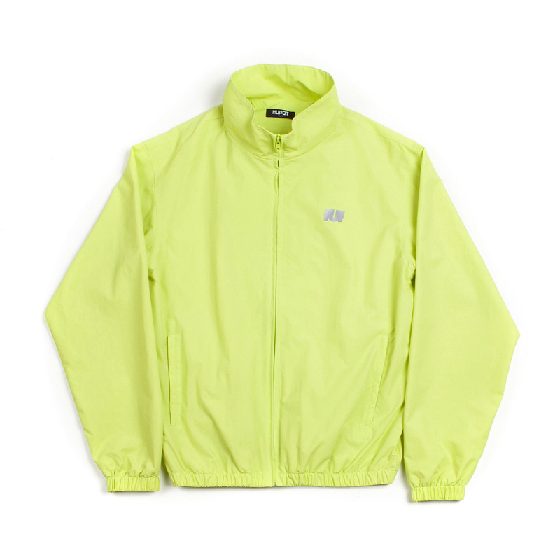 LOGO TRACK ZIP UP NEON