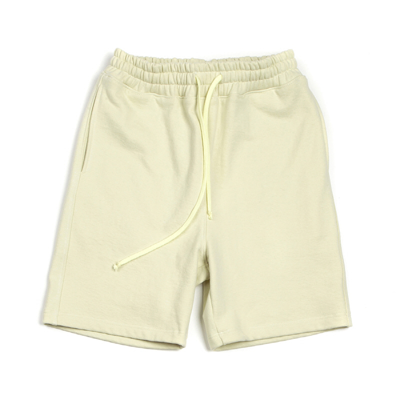 HQ FABRIC JERSEY SHORTS LEMON