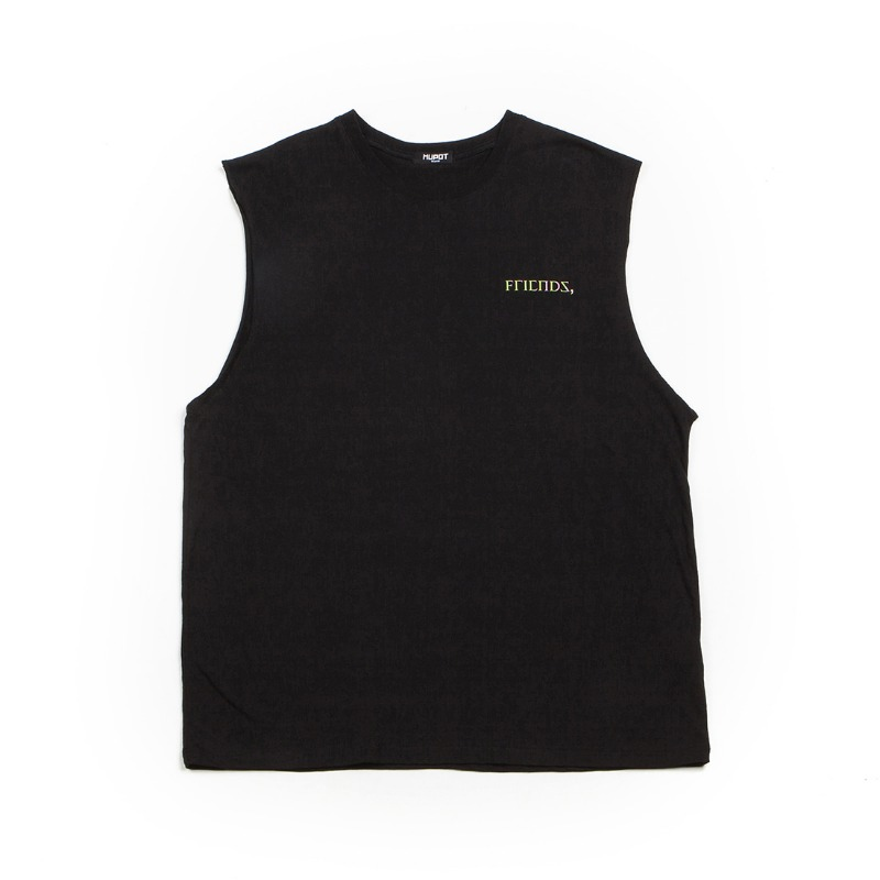 FRIENDS SLEEVELESS BLACK