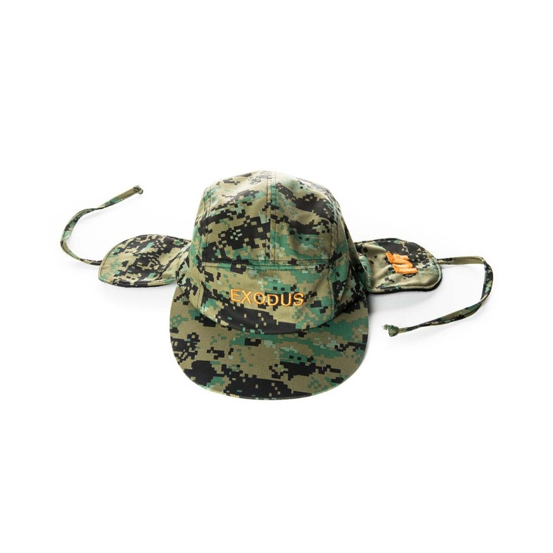 EXODUS GRAPHIC CAMO EAR-FLAP CAP