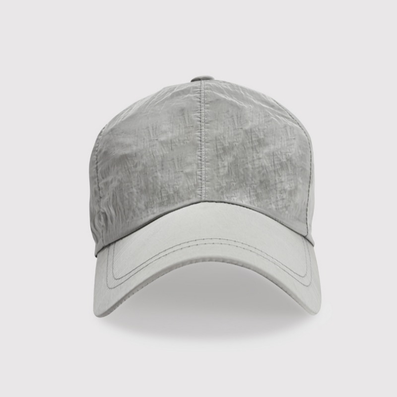 NYLON BALL CAP CREY