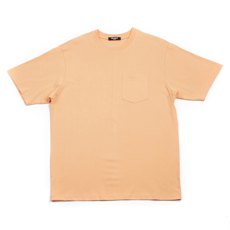 POCKET T-SHIRT PEACH